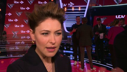 Emma Willis says her husband didn't watch her on The Voice