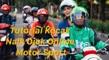 Tutorial Kocak Naik Ojek Online Motor Sport