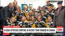 BREAKING NEWS: 14 Dead after Bus carrying Jr Hockey team crashes in #Canada #Breaking #HockeyTeam