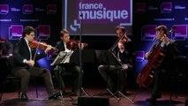 Saint-Saëns ,  Quatuor à cordes n° 1 mi mineur op  112 (Allegro più allegro) par le Quatuor Modigliani