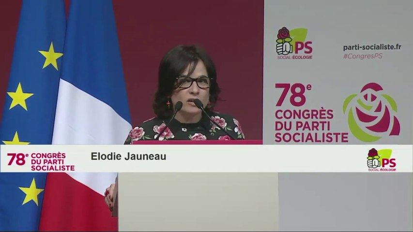 Discours de Elodie Jauneau
