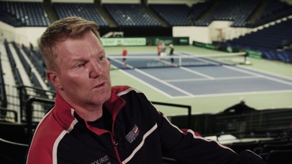 In conversation with Jim Courier