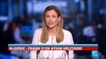 Plus de 250 morts dans un crash d'avion en Algérie