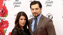 """Giacomo Gianniotti and Nichole Gustafson """"My Friend's Place 30th Anniversary Gala"""" Red Carpet"""