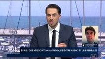 Syrie : des négociations attendues entre Assad et les rebelles