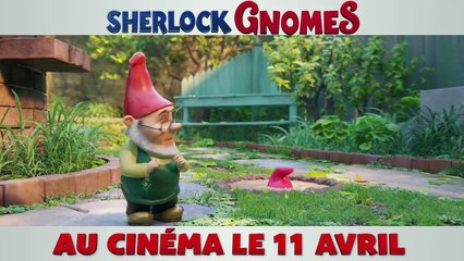 SHERLOCK GNOMES Bande Annonce VF (2018) Film Enfant Animation