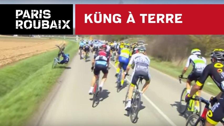 Küng à terre - Paris-Roubaix 2018