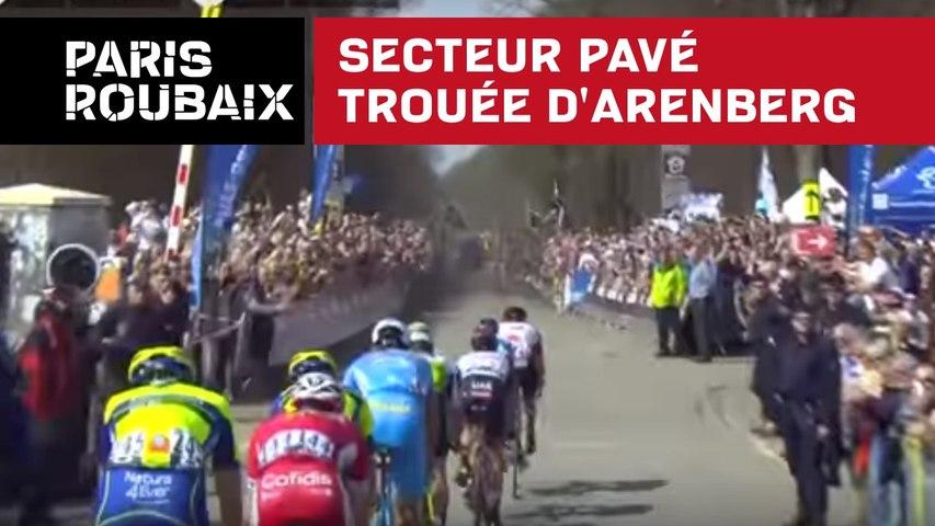 Secteur pavé Trouée d'Arenberg - Paris-Roubaix 2018