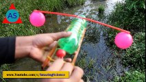 ✓Rubber Band Powered Boat - Simple Elastic Band Paddle Boat  Amazing Science