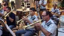 Banda da Polícia Militar de Ribeirão Preto Apresentou se no Ribeirão Shopping - TV Ribeirão Web News