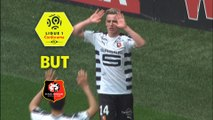 But Benjamin BOURIGEAUD (27ème) / OGC Nice - Stade Rennais FC - (1-1) - (OGCN-SRFC) / 2017-18