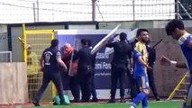 Bodrum'da futbol maçı sırasında stat dışında kavga - MUĞLA