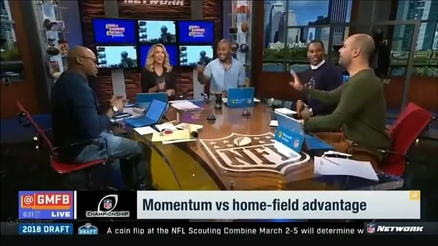 Vikings vs Eagles - Momentum vs home-filed advantage | GMFB