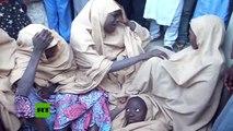 Boko Haram libera a más de 100 niñas secuestradas