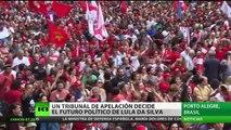 Un tribunal de apelación decide el futuro político de Lula da Silva