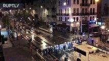 Disturbios en Bruselas dejan varios heridos tras clasificación de Marruecos para el Mundial 2018