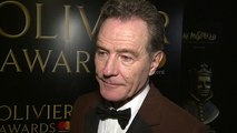 Breaking Bad star Bryan Cranston picked up Best Actor award at Olivier Awards 2018
