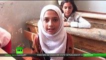 Los niños de Deir ez Zor ya regresan a los colegios