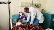 Bombardeo de Arabia Saudita mata a toda la familia de esta niña de 6 años