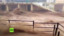 Mortales inundaciones en India provocan grandes destrozos