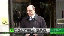 Interrogan a un exjefe del Ejército de Chile vinculado con las torturas durante la dictadura
