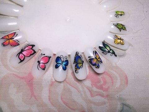 Diseño De Uñas Mariposa Paso A Paso Vídeo Dailymotion