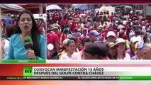 Venezuela: Simpatizantes del Gobierno marchan en medio de protestas de la oposición