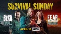 The Walking Dead 8x16 Season Finale and Fear The Walking Dead 4x01 Season Premiere Promo (HD)