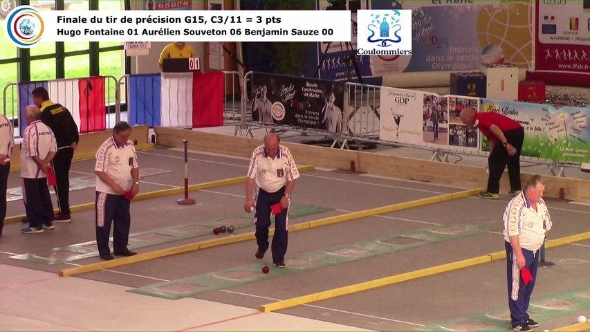 Finale du tir de précision G15, France Tirs, Coulommiers 2018
