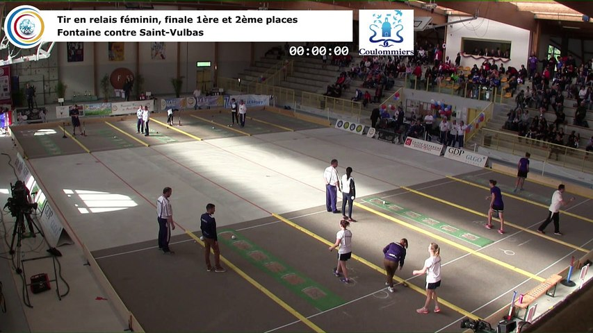 Finale, tir rapide en double féminin, France Tirs, Coulommiers 2018