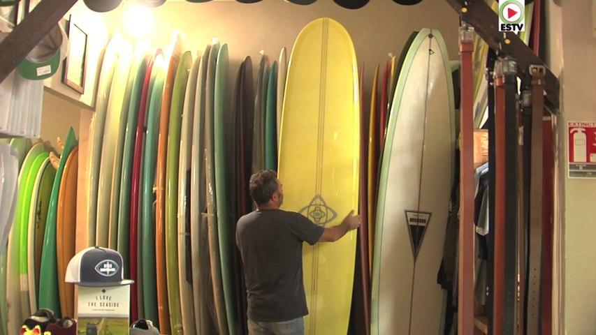 Montalivet: Les Longboards Californiens - Euskadi Surf TV