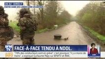 Évacuation de la ZAD de Notre-Dame-des-Landes: les gendarmes avancent petit à petit à coups de gaz lacrymogènes