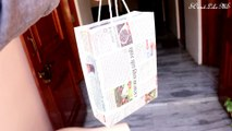How to Make a Paper Bag with Newspaper – Paper Bag Making Tutorial (Very Easy)
