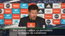 """Atlético - Simeone: """"Griezmann peut faire grandir ce club"""""""