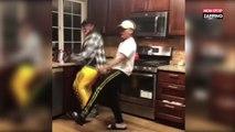 La chorégraphie hilarante de deux amis sur la musique de la Wii (Vidéo)