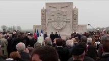 Emmanuel Macron rend hommage aux soldats portugais de la 1ère guerre mondiale