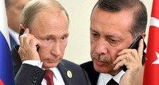 Cumhurbaşkanı Recep Tayyip Erdoğan, Rusya Federasyonu Başkanı Vladimir Putin Telefonda Görüştü.