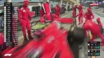 Grand Prix de Bahreïn : Le pilote Kimi Räikkönen renverse un mécanicien et abandonne (Vidéo)