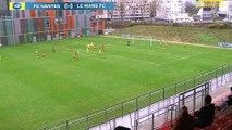 U19. Les buts de FC Nantes - Le Mans FC (2-1)