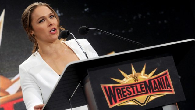 Ronda Rousey Steals The Show At Wrestlemania