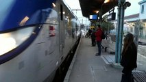 Grève SNCF: la gare de Givors ville quasiment déserte