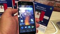 The new nokia mobile phones nokia 1 , nokia 6 , nokia 7+ and nokia 8 sirocco Review | NewsX Tech