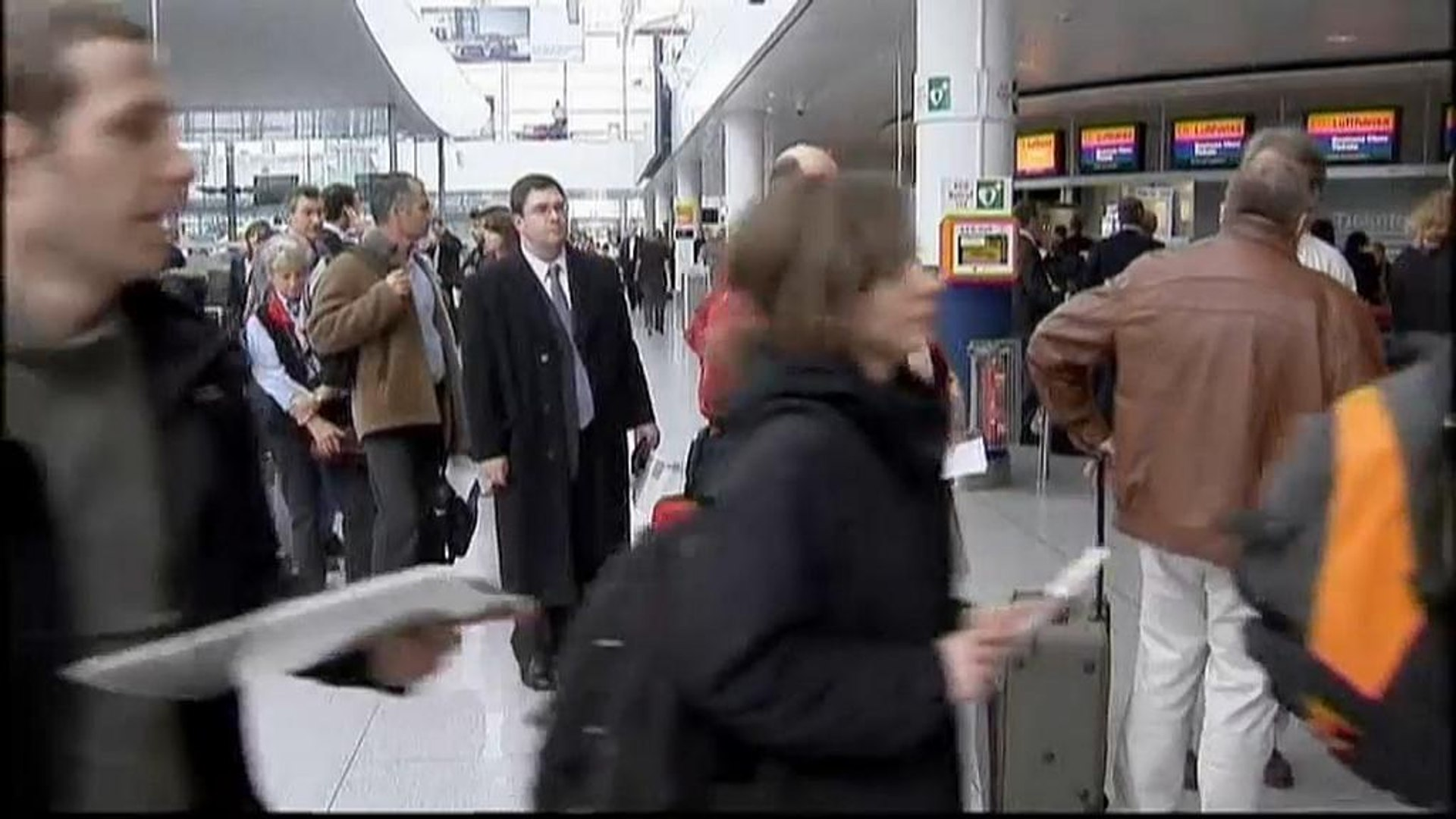 Airport strike in Germany and action in France promises misery for air travelers