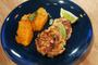 Galette de saumon et patate douce à l'orange