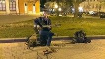 Odessa - Street Musician Plays ''Despacito'' (08.Apr.2018)