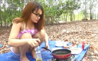 Asia Sweet Potato Cake Recipe - Delicious Sweet Potato Cake Recipe - Village style Sweet Potato Cake