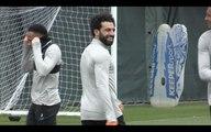 Mo Salah trains as Liverpool prepare for City clash