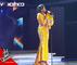 """Chandrik'a (Equipe Josey) """" Malaika """" de Miriam Makeba l Les Grands Shows l The Voice Afrique 2018"""