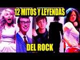 12 MITOS Y LEYENDAS URBANAS DEL ROCK | Los 12 Mas