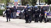 Grenoble : évacuation d'un des bâtiments du campus occupés par des étudiants